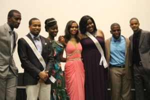 The Contestants of Mr. and Ms. Pan Afrika 2013