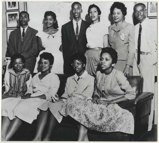 The Little Rock Nine integrated Central Rock High School, 50 years ago today.