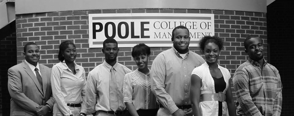The 2013-2014 Executive Board of the Black Business Students Association (BBSA).