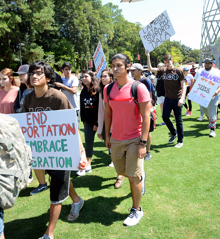 Students Rally to 'Defend DACA'