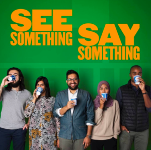 Cover art for the podcast See Something, Say Something