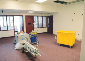 The African-American Cultural Center gets renovated on Monday, July 23 at Witherspoon Student Center. Much of the renovations happened on the third floor.