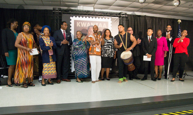 AACC hosts new USPS Kwanzaa Stamp Reveal