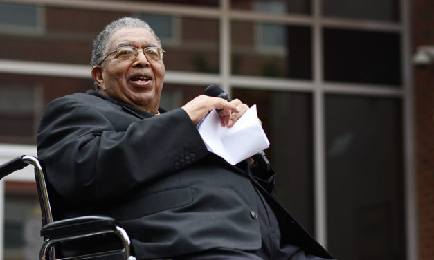 Holmes Hall: A Dedication to First Black Graduate