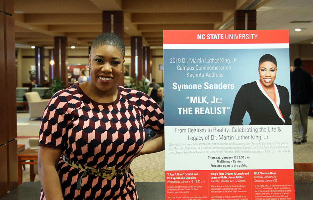 Q&A with Symone Sanders