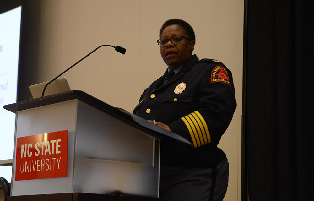 CHASS Diversity Lecture Highlights Importance of Diversity, Inclusion Within Law Enforcement