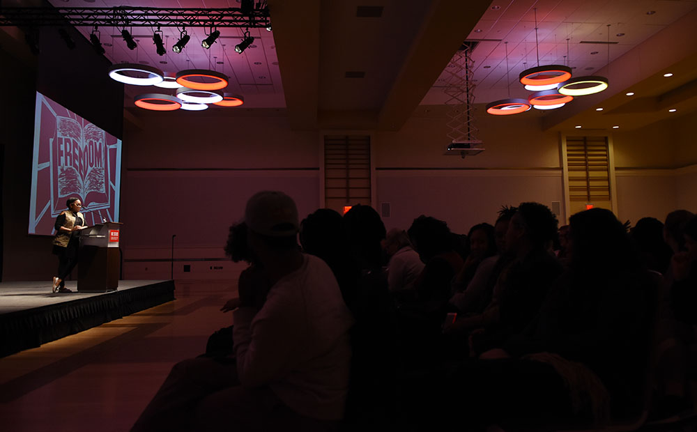 Charlene Carruthers Delivers Womxn's HERstory Month Keynote Address