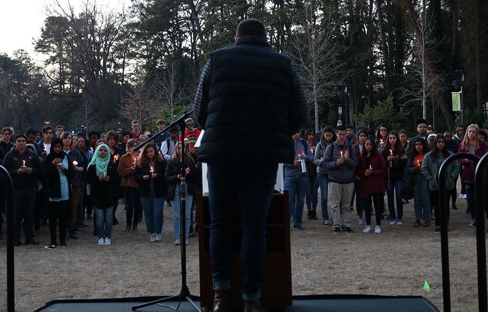 Vigil Unites Community, Promotes Interfaith Solidarity Following Christchurch Shootings