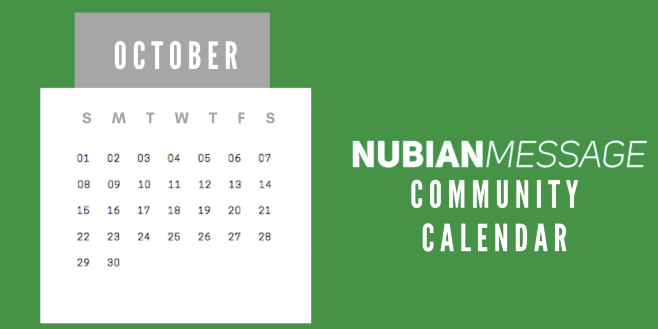 October Community Calendar
