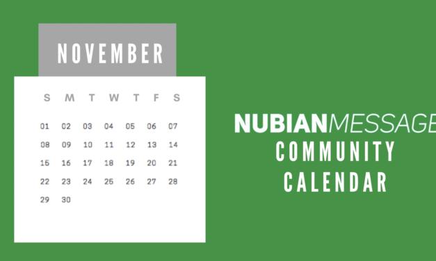 November Community Calendar