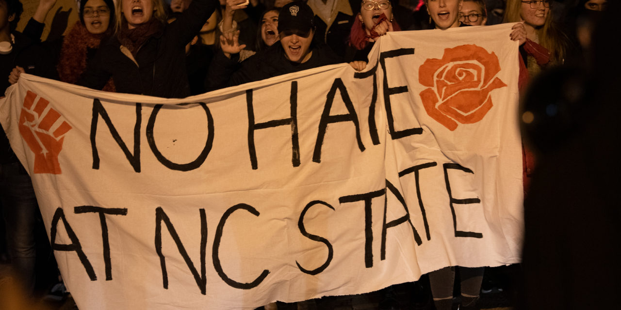 Culture Wars Brings NC State students to a Divide