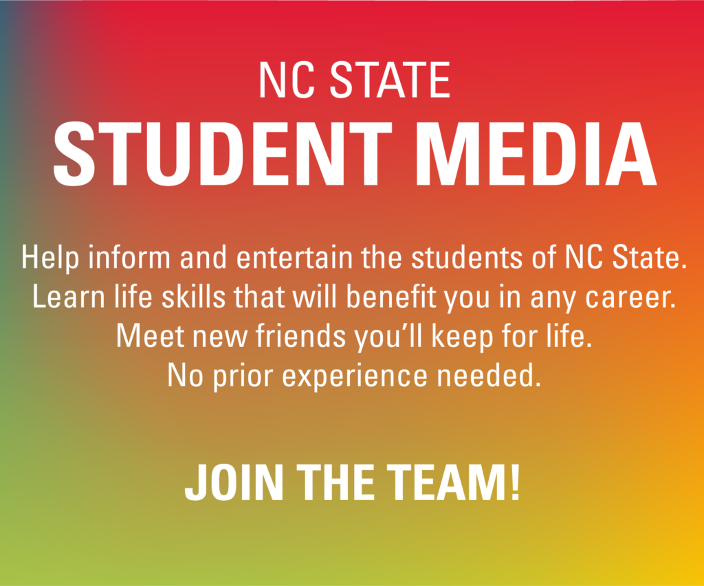 NC State Student Media fall 2021 recruitment ad